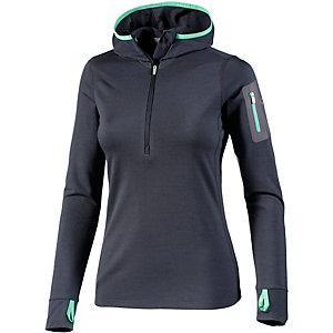 Icebreaker Funktionsshirt Damen schwarz/grün