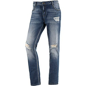 TOM TAILOR Lynn Boyfriend Jeans Damen destroyed denim