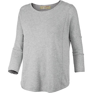 TOM TAILOR Strickpullover Damen hellgrau