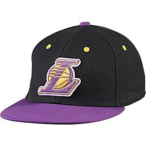 adidas NBA FITTED LA Cap schwarz/lila