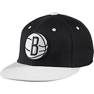 adidas NBA Brooklyn Nets Cap schwarz/weiß