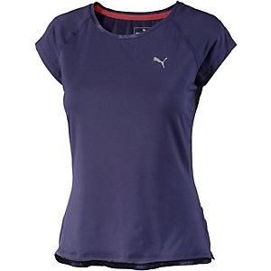 puma t shirt damen lila im online shop von sportscheck kaufen. Black Bedroom Furniture Sets. Home Design Ideas