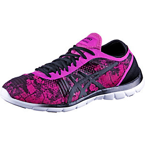 ASICS GEL-FIT NOVA GRAPHIC Fitnessschuhe Damen pink/grau