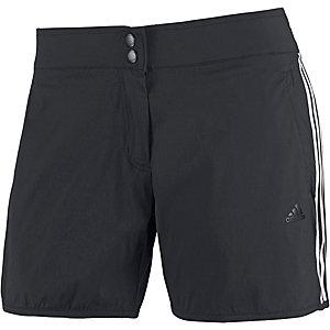adidas Shorts Damen schwarz/weiß