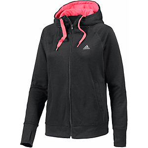adidas sweatjacke damen schwarz rot im online shop von sportscheck kaufen. Black Bedroom Furniture Sets. Home Design Ideas