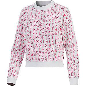 adidas Funktionssweatshirt Damen weiß/rot