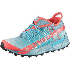 La Sportiva Mutant Mountain Running Schuhe Damen hellblau/rot