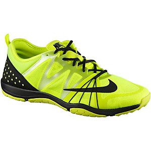 Nike Free Cross Compete Fitnessschuhe Damen limette/schwarz