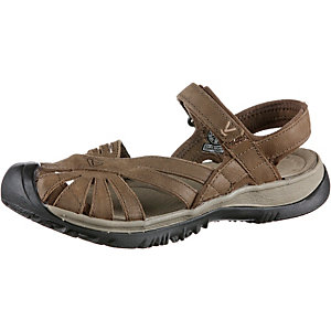 Keen Rose Leather Outdoorsandalen Damen braun