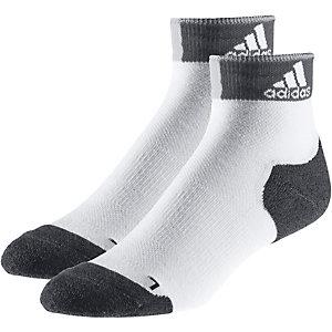 adidas Laufsocken weiß/grau