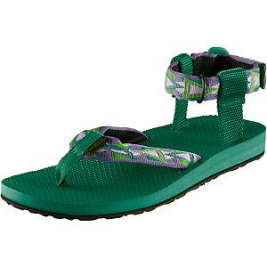 Teva Original Sandal Outdoorsandalen Damen grün/lila