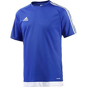 adidas Fußballtrikot Herren blau/weiß