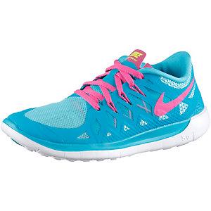 Nike Free Damen 5.0 Hellblau