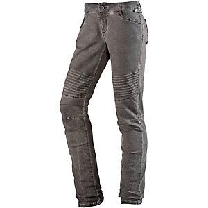 TIMEZONE PaulaTZ Skinny Fit Jeans Damen braun