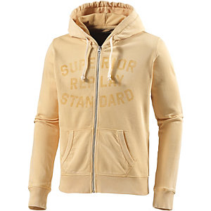 REPLAY Sweatjacke Herren gelb