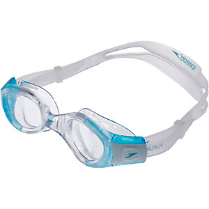 SPEEDO Futura Biofuse Female Schwimmbrille Damen transparent/blau