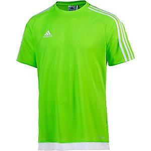 adidas Fußballtrikot Herren neongrün/weiß