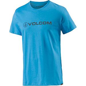 Volcom Afron Printshirt Herren blau
