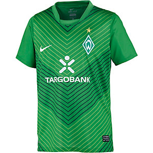 Nike SV Werder Bremen 11/12 Heim Fußballtrikot Kinder grün
