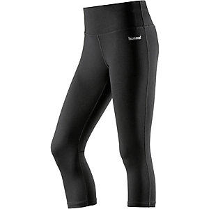 hummel Tammy 3/4 Tights Damen schwarz
