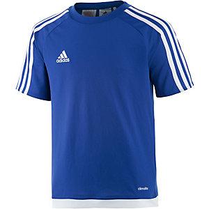 adidas Fußballtrikot Kinder blau/weiß