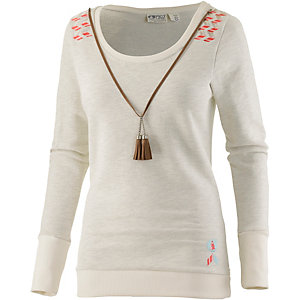 Picture Angel Sweatshirt Damen offwhite