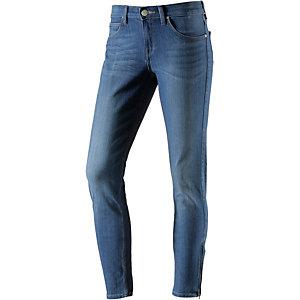 Lee Skinny Fit Jeans Damen blue denim