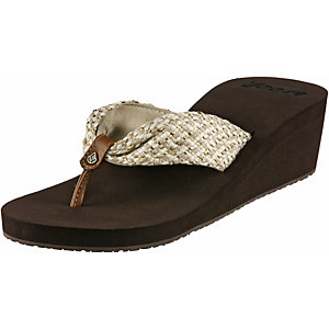 Reef Betty Zehensandalen Damen braun