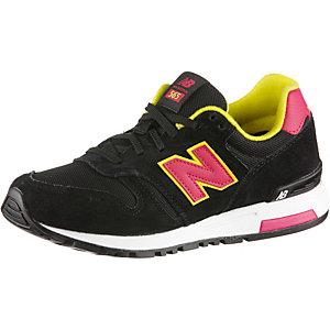 NEW BALANCE 565 Core+ Sneaker Damen schwarz/pink