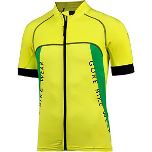 Gore Trikot Alp-X Pro Fahrradtrikot Herren gelb/grün