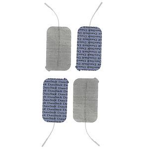 Compex Stimulations-Elektroden für Fitnessgerät blau