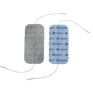 Compex Stimulations-Elektroden für Muskelstimulator blau
