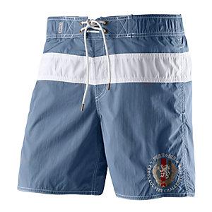 Bogner Fire + Ice Macao Badeshorts Herren blau/weiß