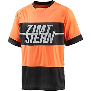 Zimtstern Darko Funktionsshirt Herren orange/grau