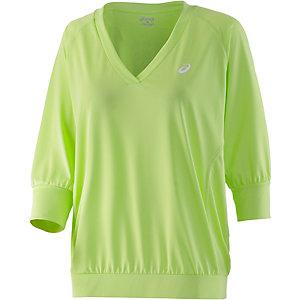 ASICS Tennisshirt Damen grün