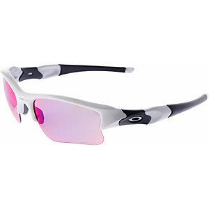 Oakley PRIZM ROAD Sportbrille POLISHED WHITE/PRIZM ROAD