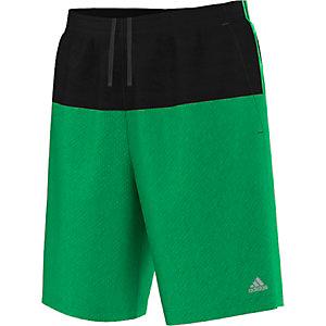 adidas BaseMid Funktionsshorts Herren grün/schwarz