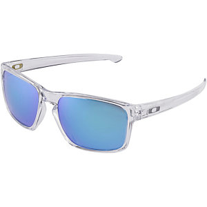 Oakley SLIVER Sonnenbrille polished clear/sapphire iridium