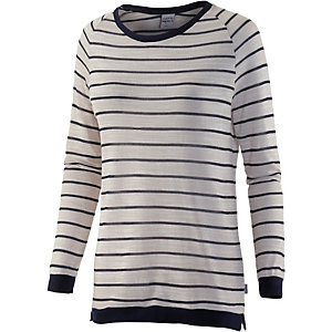 Cleptomanicx Carly Strickpullover Damen grau/navy
