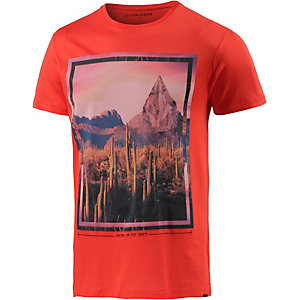 Volcom The Dawn Printshirt Herren rot