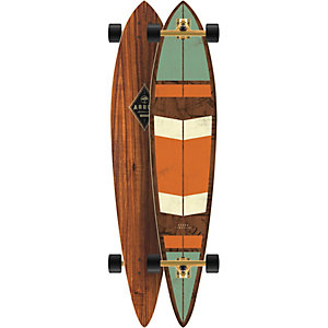 Arbor TIMELESS-Caliber 10 Longboard orange