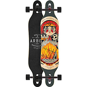 Arbor AXIS GT - Caliber 10 Longboard grau