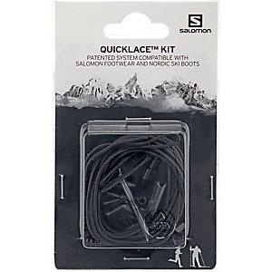 Salomon Quicklace Kit Schuhbänder schwarz