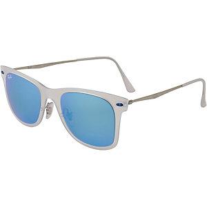 RAY-BAN Sonnenbrille blau/weiß