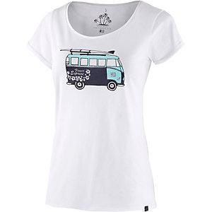 WLD Flower Express II Printshirt Damen weiß
