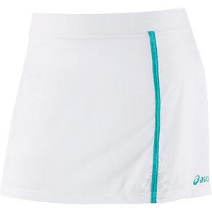 ASICS Tennisrock Damen weiß/türkis