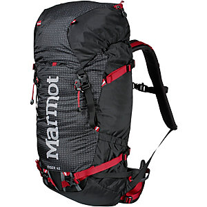 Marmot Eiger 42 Tourenrucksack schwarz/rot