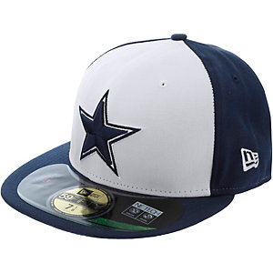 New Era 59fifty NFL On Field Cowboys Cap weiß/blau