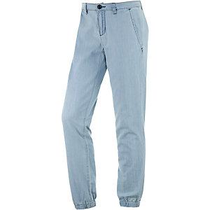 Vans Indigo Jogger Loose Fit Jeans Damen light denim