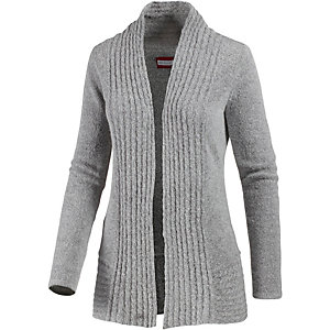White Season Strickjacke Damen dunkelgrau
